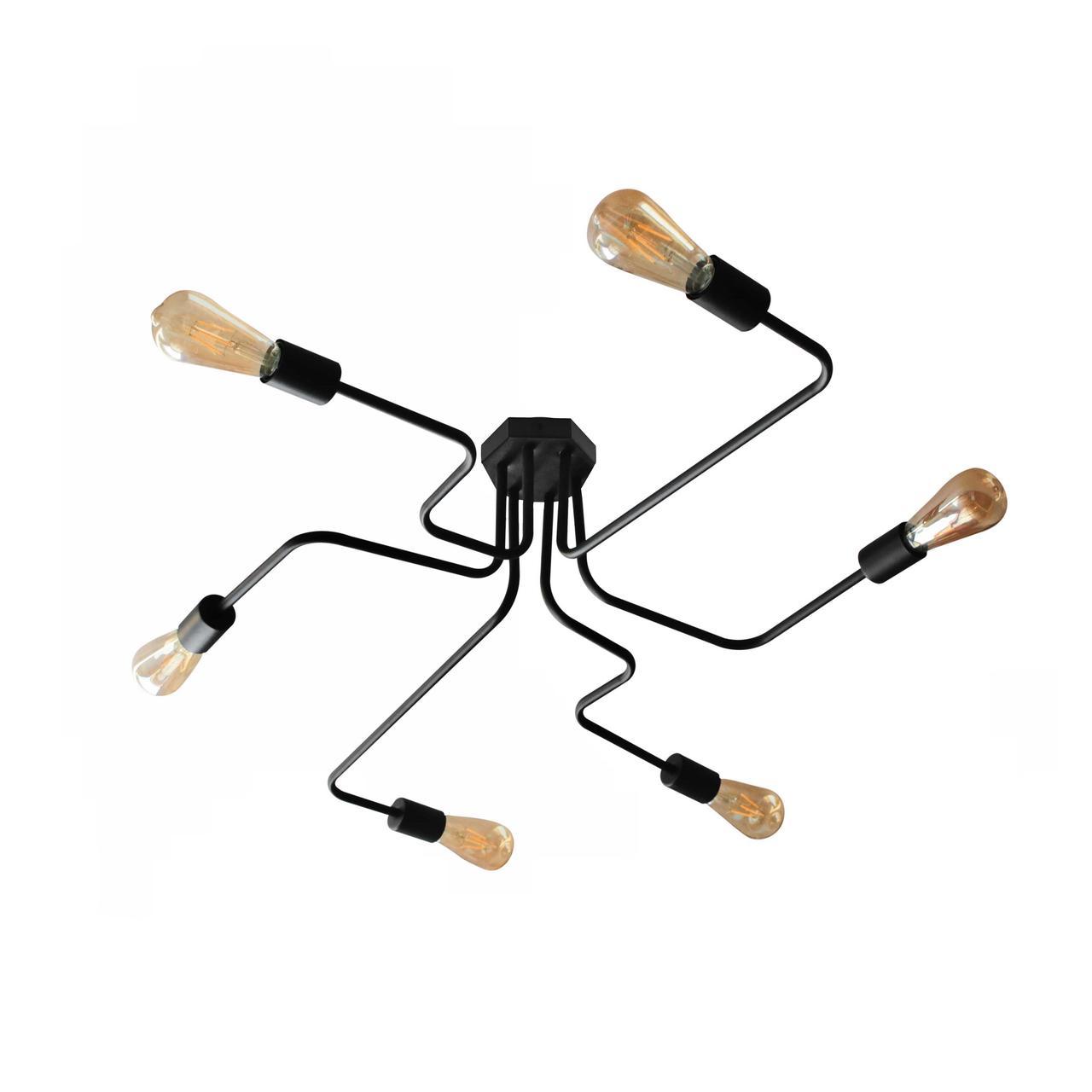 Люстра паук NL 10084/6 spider MSK Electric