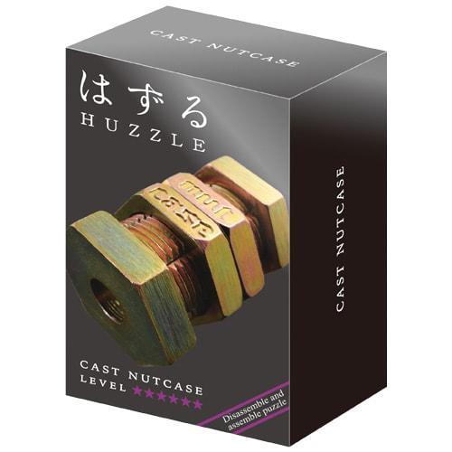 Huzzle Nutcase 6* Металлическая головоломка Крепкий орешек Болт Hanayama (Japan)