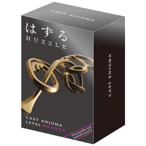 Huzzle Enigma 6* Металлическая головоломка Энигма Загадка Hanayama (Japan)