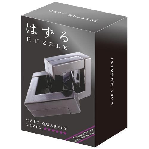 Huzzle Quartet 6* Металлическая головоломка Квартет Hanayama (Japan)