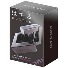 Металлическая головоломка | Huzzle Quartet | 6* | Hanayama (Japan)