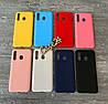 TPU чехол накладка Candy для Samsung Galaxy A20 ( 8 цветов)