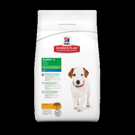 Сухой корм для щенков Hill's Science Plan Canine Puppy Healthy Development Mini Chicken 7,5 кг