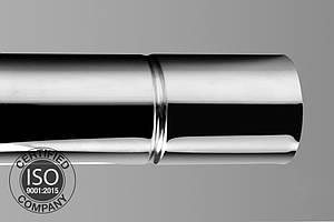 Труба дымохода ø120 с 1 мм  нержавейки 201 L=1м