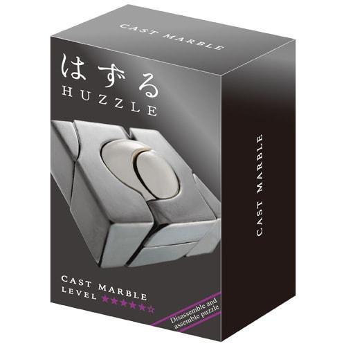 Металлическая головоломка | Huzzle Marble | 5* | Hanayama (Japan)