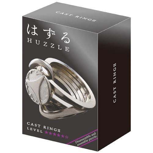 Металлическая головоломка | Huzzle Ring II | 5* | Hanayama (Japan)