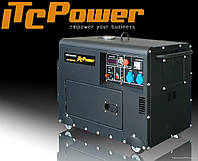 Дизельный генератор ITC-Power DG6000SE 5кВт