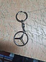 Брелок автомобильный металлический для ключей Mercedes Мерседес Качество! Турция! Брелок для ключей авто
