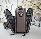 Женская сумка-клатч цвета капучино, эко кожа, фото 6