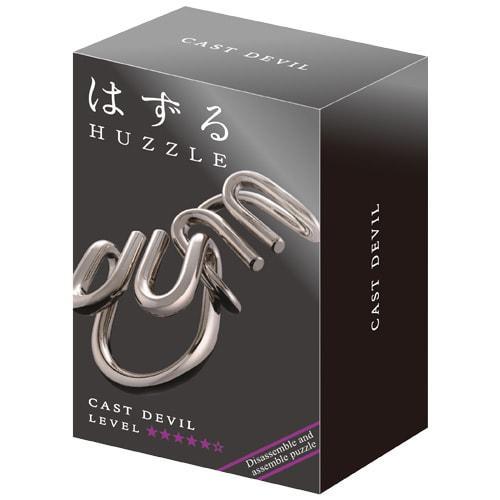 Huzzle Devil 5* Металлическая головоломка Когти Hanayama (Japan)