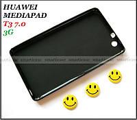 Черный силиконовый чехол (бампер) на Huawei Mediapad T3 7 3G (bg2-u01)