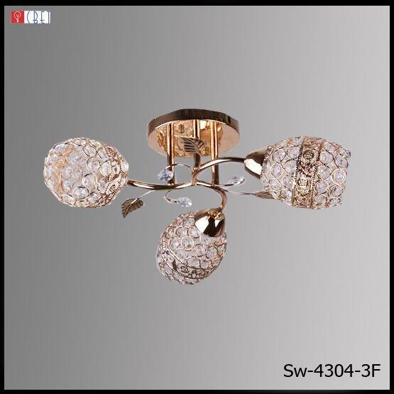 Люстра потолочная 3-х ламповая SW-4304/3 FG F