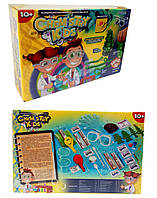 Безопасный образовательный набор для проведения опытов Danko Toys CHEMISTRY KIDS (7888DT/1) Мальчик