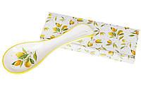 Подставка под ложку керамическая 24см Сочные лимоны, фото 1