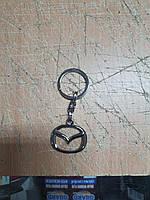 Брелок автомобильный металлический для ключей Mazda Мазда Качество! Турция! Брелок для ключей авто
