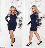 Женское платье   (размеры 48-54) 0229-38, фото 3