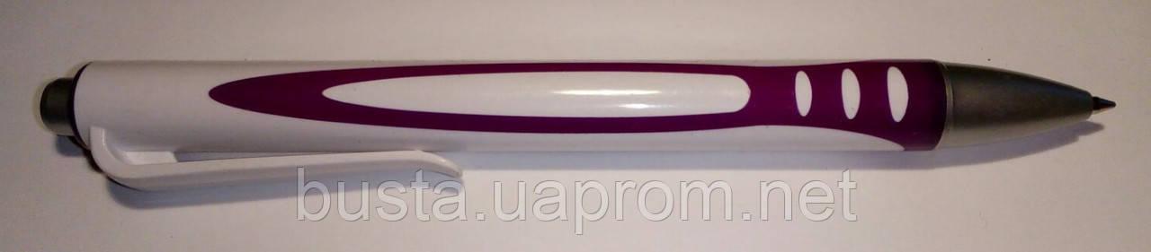 Ручка шариковая автоматическая Promo 4 фиол
