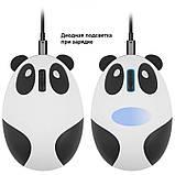 Беспроводная мышь Панда со встроенным аккумулятором, фото 5