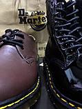 Высокие Dr.Martens 1460 лакированные, фото 9