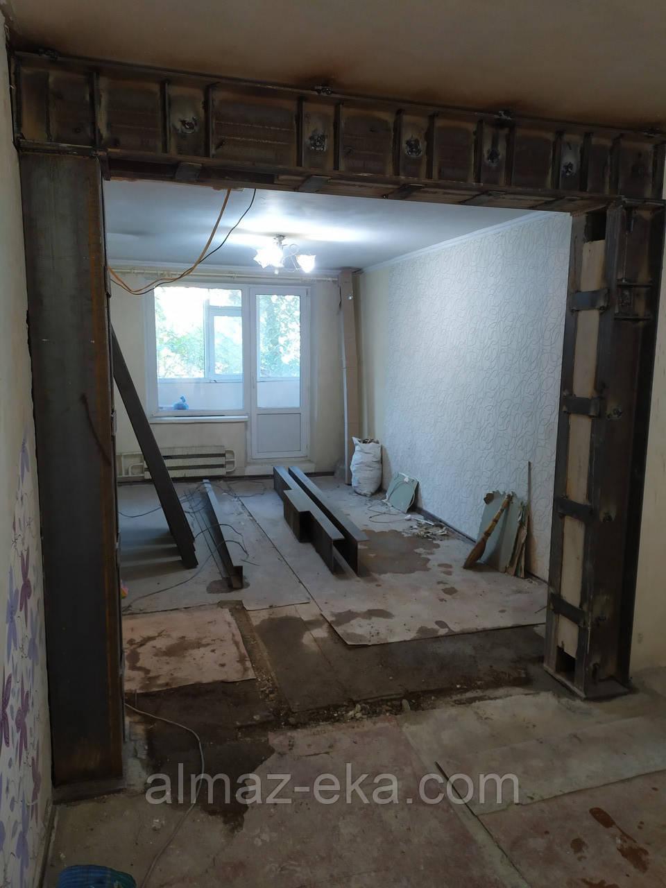 Резка проемов в бетонных,кирпичных стенах Харьков