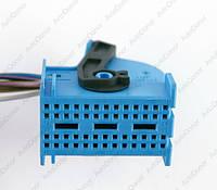 Разъем автомобильный 52-pin/контактный. Мама. 35×23 mm. Б.У