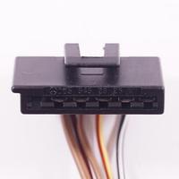 Разъем автомобильный 6-pin/контактный. Мама. 34×7 mm. Б.У