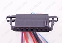 Разъем автомобильный 7-pin/контактный. Мама. 45×9 mm. Б.У