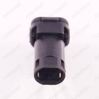 Разъем автомобильный 1-pin/контактный. Мама. 12×11 mm. Б.У