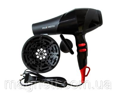 Профессиональный фен с насадками для сушки волос Promotec PM 2302, 3000W