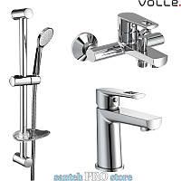 Набор смесителей для ванной комнаты VOLLE серии BENITA