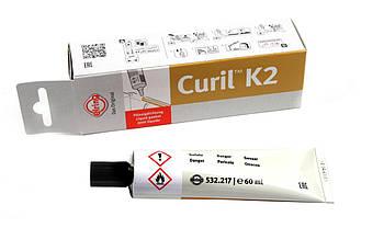 Герметик-клей Curil K2 (-40°C +200°C) 60ml (жовто-коричневий) (532.217) ELRING