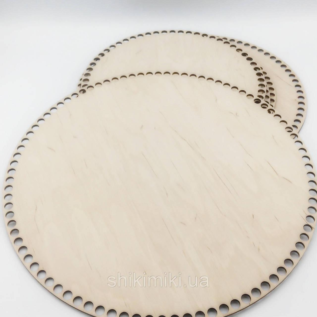 Заготовка из фанеры круглая (34 см)