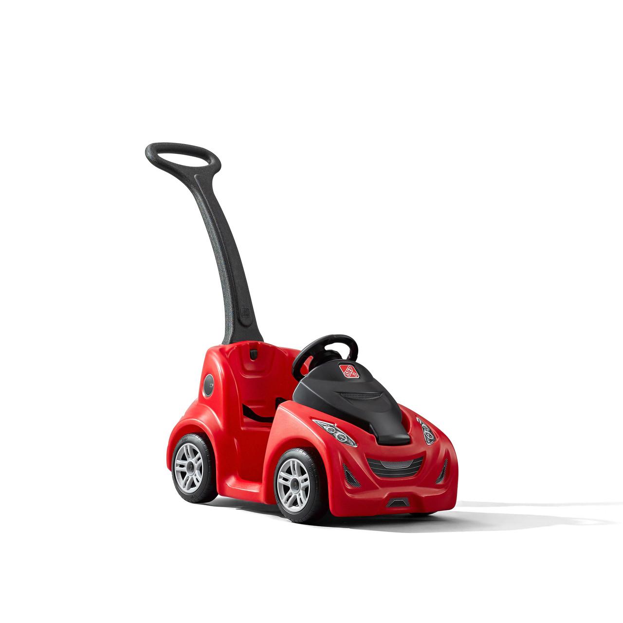 Машинка каталка з ручкою Sports Ride червоний Step2 8744