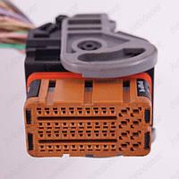 Разъем автомобильный 48-pin/контактный. Мама. 40×21 mm. Б.У