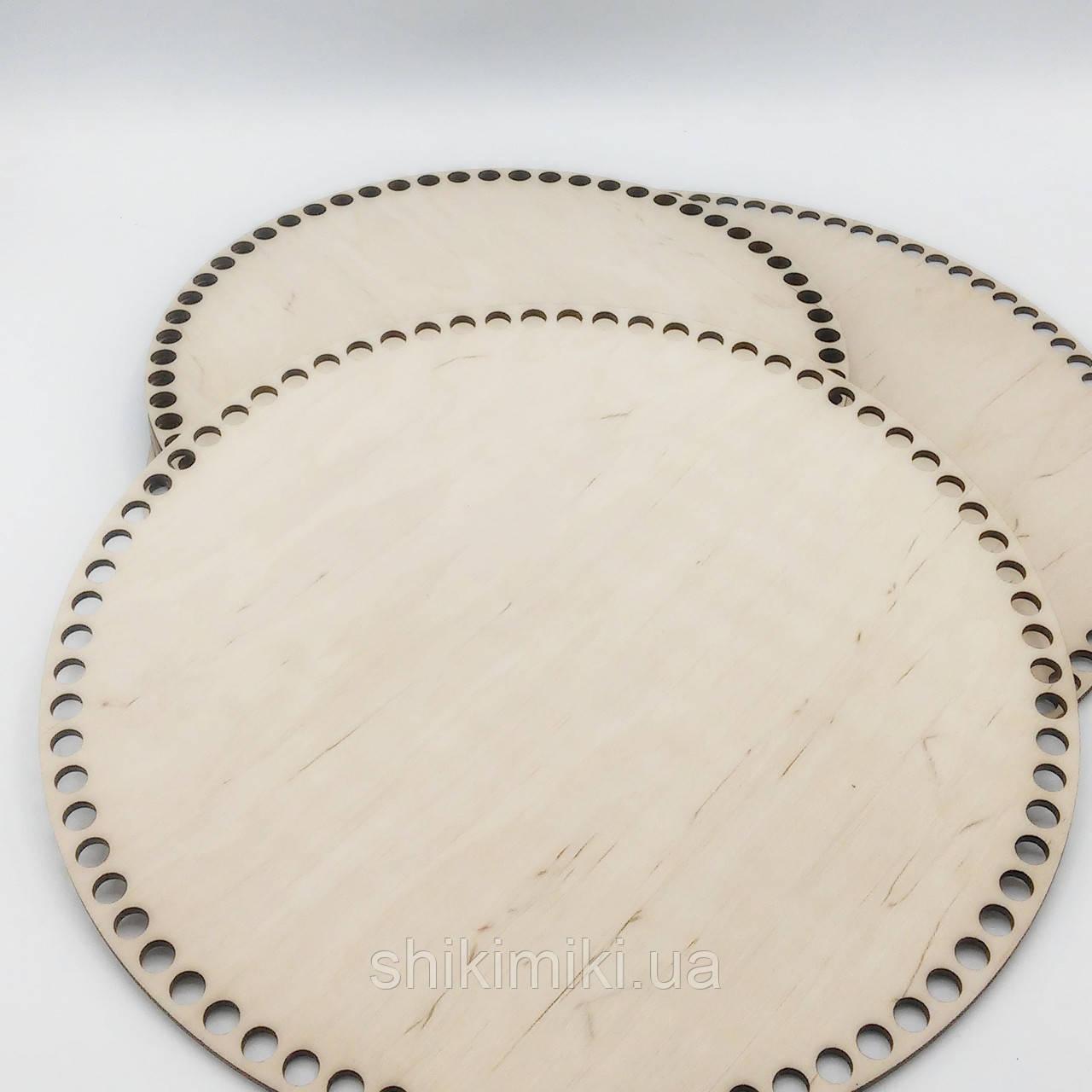 Заготовка из фанеры круглая (28 см)