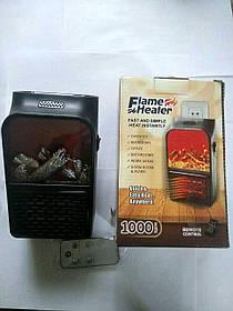 Компактний обігрівач-камін «Швидке тепло» (Flame Heater) 1000w