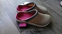 Кроксы летние Crocs LiteRide™ Clog серые 38 разм., фото 1