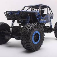 Машинка трюковая внедорожник на радиоуправлении, Джип с подвеской Rock Crawler Pro синий Original