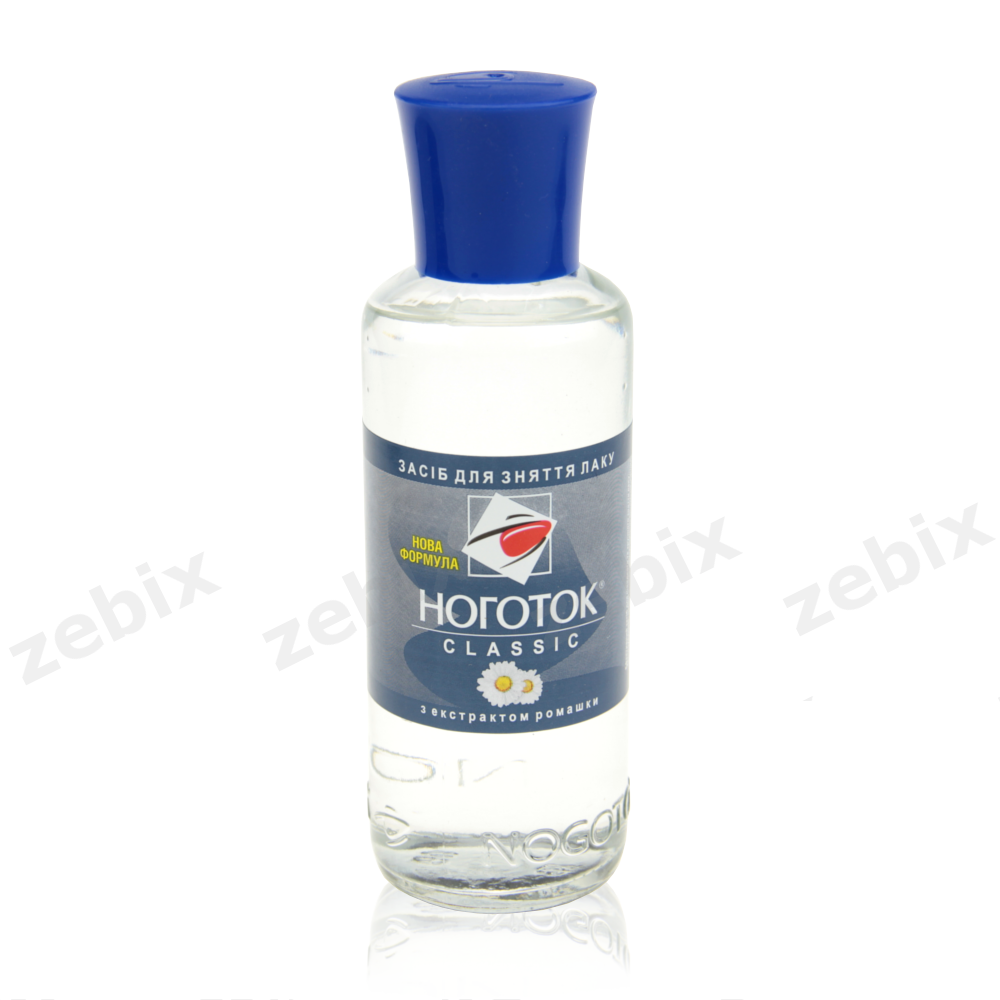 Жидкость для снятия лака Ноготок 100 мл