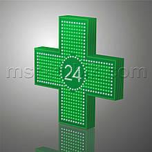 """Світлодіодний аптечний хрест 900х900 односторонній. Серія """"Twenty-Four"""""""