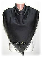 Натуральные однотонные платки Келли, чёрный