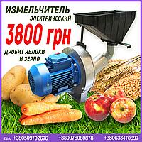 Электрический измельчитель зерновых и яблок, фото 1