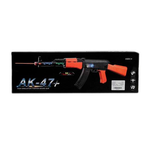 Автомат, звук, свет, вибро, AK-47+