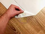 Захисний килимок під крісло з полікарбонату Tip-Top™ 0,8 мм 1000*1250мм Прозорий (закруглені краї), фото 7