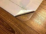 Захисний килимок під крісло з полікарбонату Tip-Top™ 0,8 мм 1000*1250мм Прозорий (закруглені краї), фото 8
