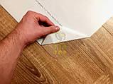 Захисний килимок під офісне крісло Tip Top™ 1,5 мм 1000*1500мм Напівматовий (закруглені краї), фото 7