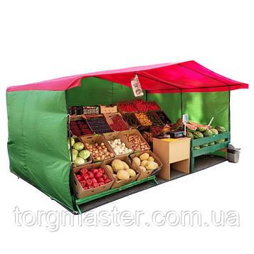 Палатка торговая, рекламная, агитационная 4х2м Ткань Оксфорд 150гр/м2 + Каркас 20мм