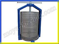 Пресс для сока (15 л, нержавеющая корзина, заводское качество), фото 1