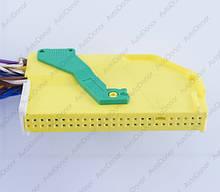 Разъем автомобильный 48-pin/контактный. Мама. 66×12 mm. Б.У