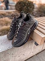 Зимние Кроссовки Мужские Nike MX 720 818 Black Чёрные